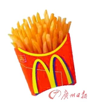 麦当劳将在汉堡,薯条等主要产品外增加米饭产品.图片