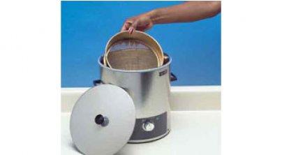 紧凑型超声波净筛器