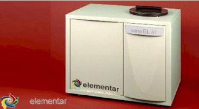 Vario EL cube CHNOS 元素分析仪